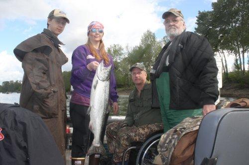 Willamette River fishing