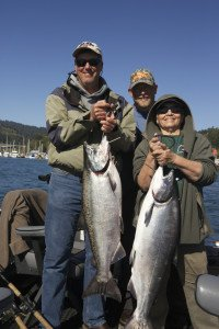 Two Large Chinook