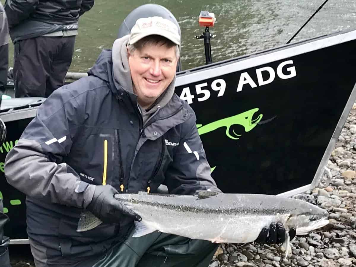 Wilson Steelhead with Pro Guide Bob Rees