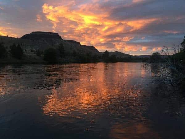 Lower Deschutes Sunset
