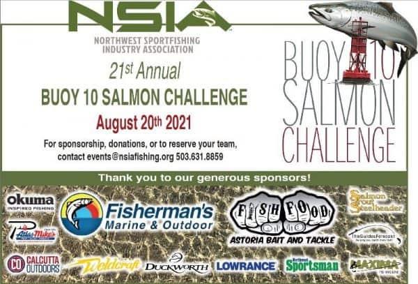 Oregon Fishing NSIA 2021 Buoy 10 Salmon Challenge
