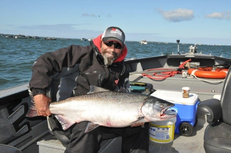 While chinook, like this one Tito Montermor is holding, are why most anglers visit Buoy 10 it's going to be hard to pass up on adding an additional coho, or perhaps two coho, to your tag given this year's expected 1.5 million coho return.