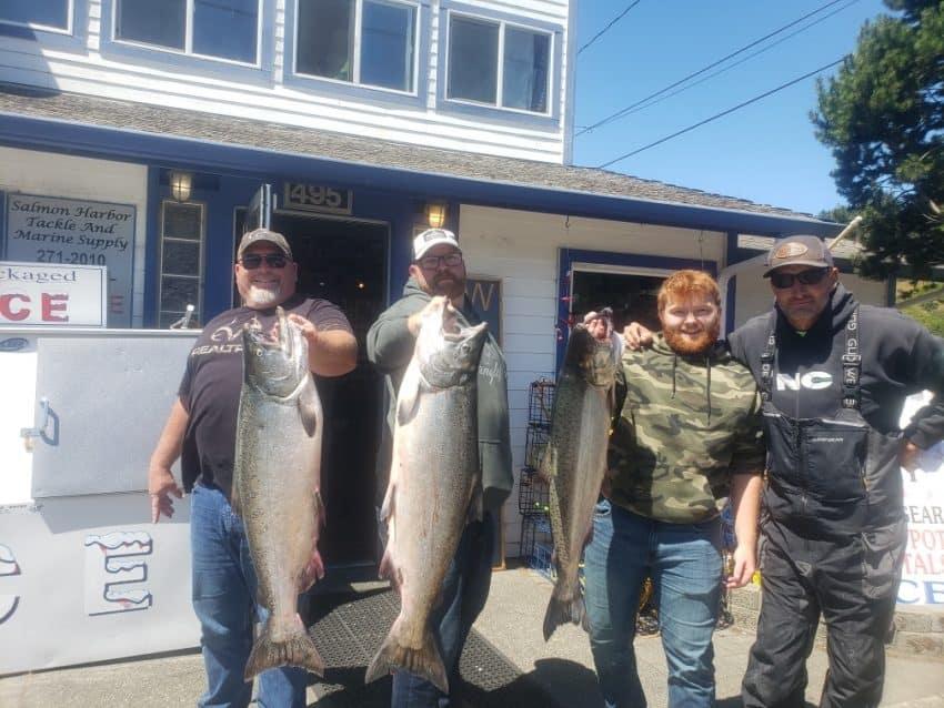 Oregon Fishing Report - Umpqua chinook