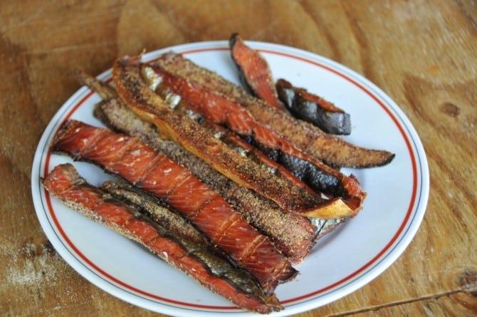 Smoked Salmon Strips